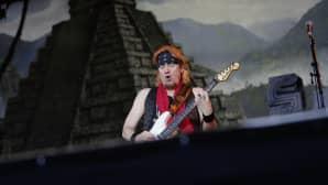 Iron Maidenin kitaristi Adrian Smith.