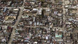 Hirmumyrsky Matthew tuhoja 6. lokakuuta Haitissa.