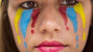 Venezuelassa osoitettiin mieltä hallitusta vastaan 22. huhtikuuta.