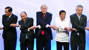 ASEAN jäsenmaiden ja USA:n juhlaseremonia.