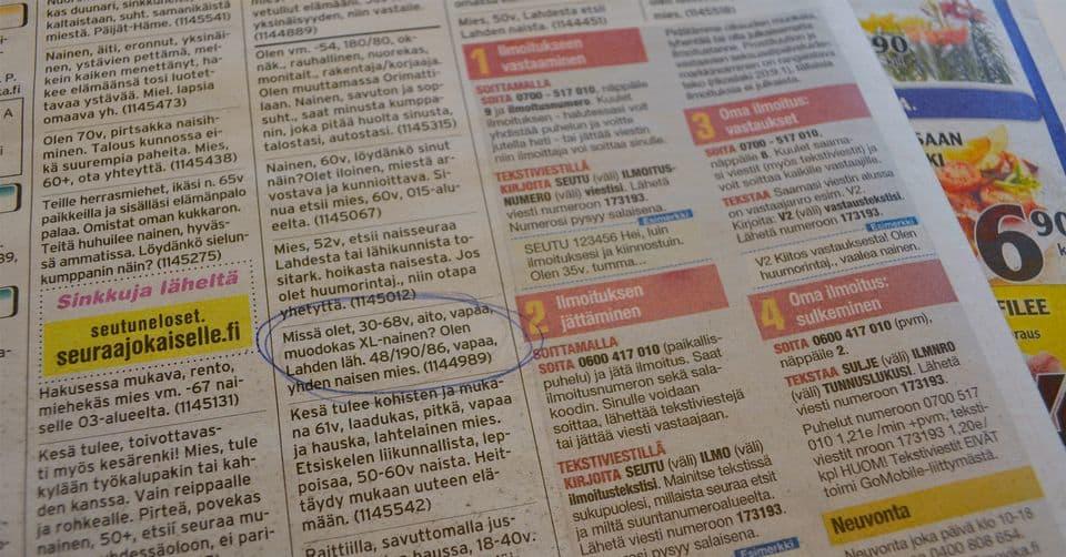 sinkut suomi24.fi deittisivusto etelä-karjala