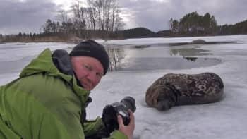 Metsäradio.: Metsäradion henkilökuvassa Juha Norppa Taskinen