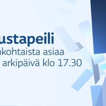 Taustapeili.: Vieraana kirjeenvaihtaja Rauli Virtanen