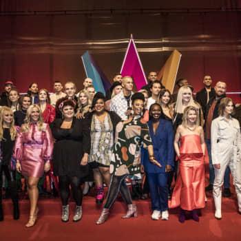 Victor Crone och Klara Hammarström är klara för Melodifestival 2020