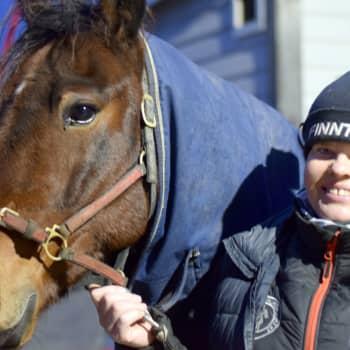 Hästar är Nina Pettersson-Perkléns passion