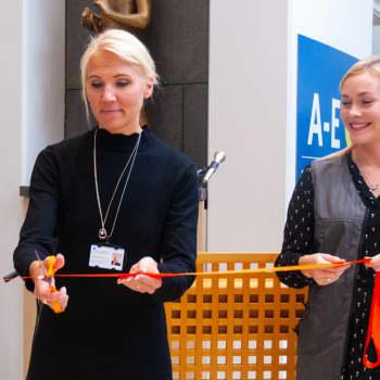 Nu är volontäverksamheten OLKA på Vasa centralsjukhus invigd