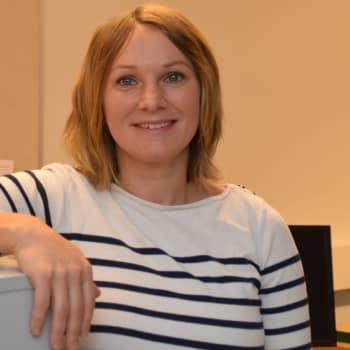 Ryttaren Jessica Aminoff ser fram emot att delta i Helsinki International horse show