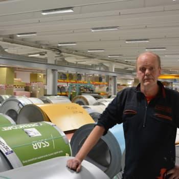 Tom Lundström har jobbat för SBA Interior i 25 år