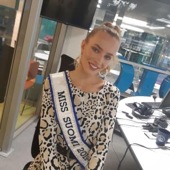 Miss Suomi Anni Harjunpään mielestä missi ei kilpaile pelkästään kauneudesta