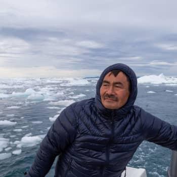 Fiskare på Grönland berättar om hur isbergen smälter
