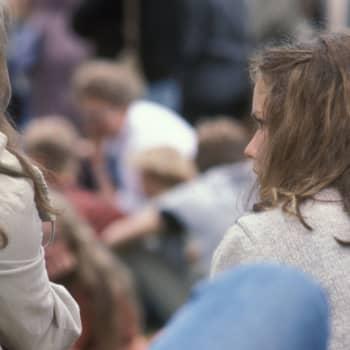 Unga kvinnor som inte orkar