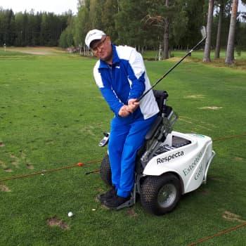 Sami Tervosta tuli maajoukkuetason urheilija vammauduttuaan.
