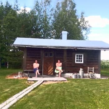 Metsäradion saunailta