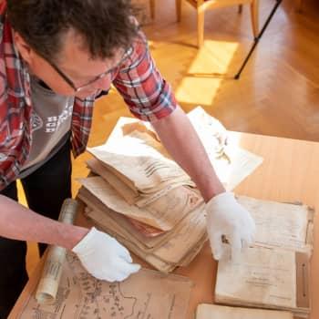 Dokument från tyska armén i andra världskriget upphittade i Hangö