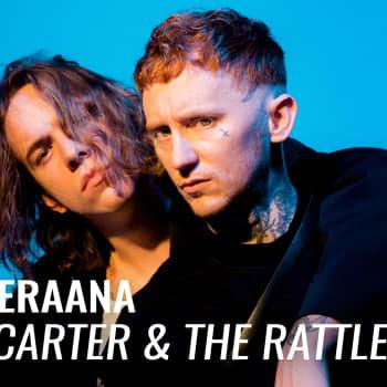 Frank Carter & The Rattlesnakes vieraana: Punk rock -yhtye tasa-arvoisemman huomisen toivossa