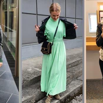 """Ostolakkoon ryhtynyt Jenna Antila: """"Jos kaapistani löytyy 365 erilaista asukokonaisuutta, on vaatteita tarpeeksi"""""""