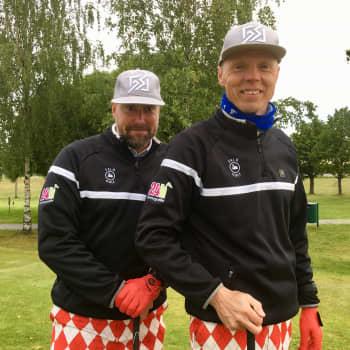 Tomi Paju ja Vesa Kujanpää golfasivat 24 tuntia yhteen putkeen seuranaan kissoja ja Suomen suvinen sää