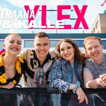 YleXPop 2019 -artistit Ida Paul & Kalle Lindroth tapasivat superfaninsa YleX:n Jussin ja Hannan