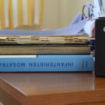 Valter Nymans dagböcker från fortsättningskriget har blivit bok