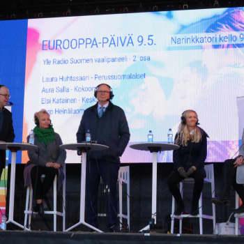Radio Suomen Päivän eurovaalitentti osa 2
