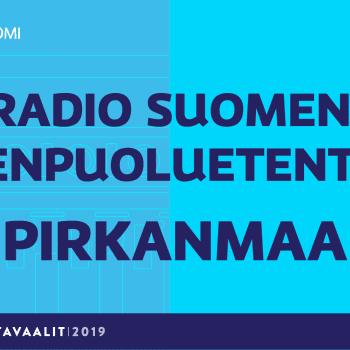 Eduskuntavaalit 2019: Pienpuoluetentti, Pirkanmaan vaalipiiri
