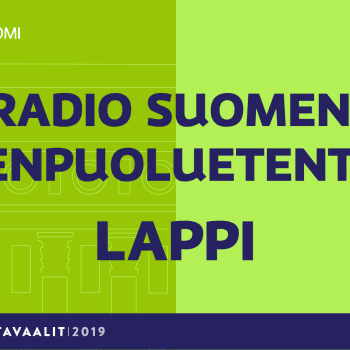 Eduskuntavaalit 2019: Pienpuoluetentti, Lapin vaalipiiri