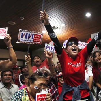 Eteneekö demokratia viimein Thaimaassa?