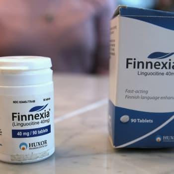 Ottaisitko pillerin, jonka avulla opit suomen kieltä? Taideopiskelijan projekti paljasti sokean uskon lääkemarkkinointiin