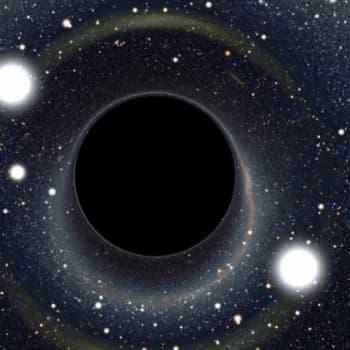 Onko avaruudessa valkoisia aukkoja?
