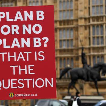 """""""No Deal"""" pelottaa Britanniassa ja Suomessa"""