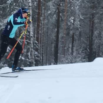21-vuotias hiihtäjälupaus Verneri Suhonen: Teen tätä rakkaudesta lajiin