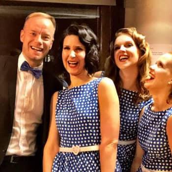 Vintageyhtye Dollypops haluaa tuoda iloa sekä itselleen että yleisölle