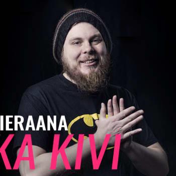 Iikka Kivi vieraana: Halusin pilkata self-help -kirjoja oikein kunnolla