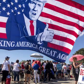 Välivaaleissa kansa äänestää Trumpin linjasta