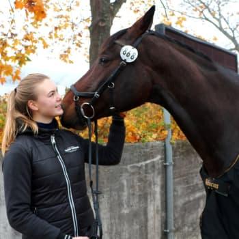 Lida Haddas tävlar i Helsinki International Horse Show
