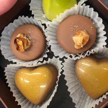 Suklaata täytyy rakastella suussa maistaakseen sitä kunnolla