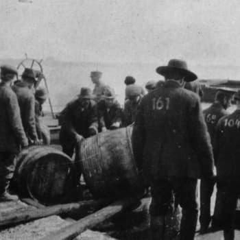Sisällissota 1918 - punaiset muistot: Suomenlinnan hyvä lääkäri (Valfrid Kallio)