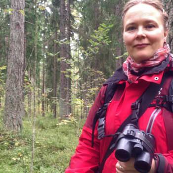 Metsäradio.: Metsäradion henkilökuvassa Heidi Björklund