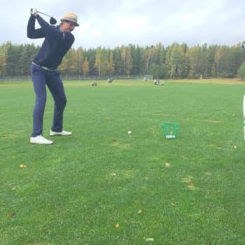 YLE Kymenlaakso: Ammattilaisgolfari Tapio Pulkkanen: Hetkessä pysyminen on vaikein juttu