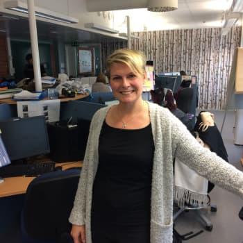 """Radio Suomi Kuopio: """"Hyvä pomo kuuntelee ja kannustaa"""""""