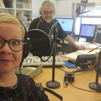 Radio Suomen toimittaja-juontaja Sanna Jussila