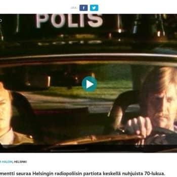 YLE Helsinki: Perusjuopot ovat hävinneet Helsingin katukuvasta - putkaan päädytään nykyään häiriökäyttäytymisen takia