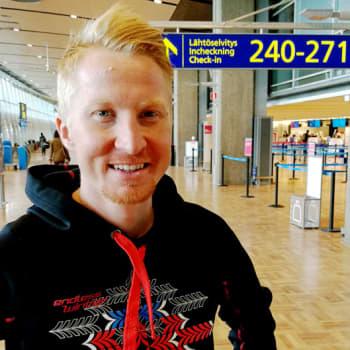 Radio Suomen Iltaohjelma: Suunnistaja Mårten Boström väittelee geoinformatiikasta