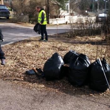 YLE Helsinki: Puolessa tunnissa säkeittäin roskaa