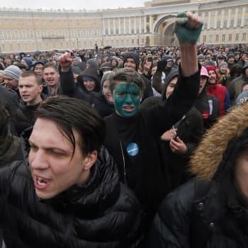 Maailmanpolitiikan arkipäivää: Uusi sukupolvi nosti protestilipun Venäjällä