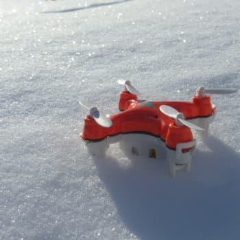 """Aurora Arctic Drone Hackaton - gilvu """"okkupere"""" Heahtá girdingietti"""