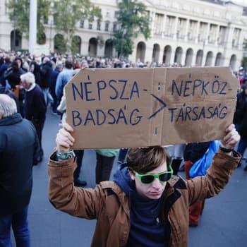 Maailmanpolitiikan arkipäivää: Sananvapaus kapenee Euroopassakin