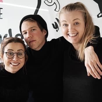 """Poikelus ja Hätönen: Olavi Uusivirta: """"Kyllä mä Samuli Edelmanille antaisin ydinaseiden laukaisukoodit."""""""