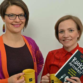 Puheen Päivä: Ruokamysteerit-kirjan tekijät: Väärä tieto aiheuttaa ähkyä, ei väärä ruoka!