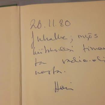 Julkinen sana: Syksy 1980: Eino Leino Seuran kokous ja Harri Sirolan Abiturientti